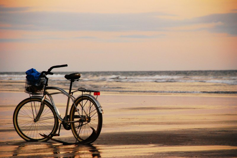 Playa Bejuco is a very long, flat beach perfect for running, walking or riding a bike at low tide
