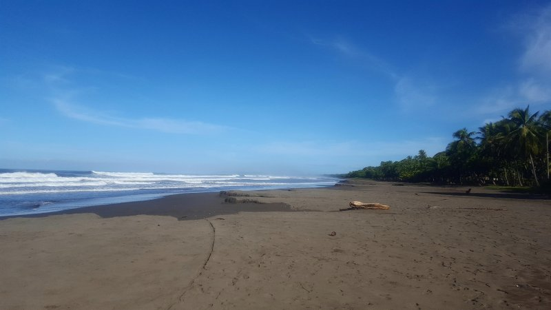 Playa Bejuco is one of the 11 cleanest beaches in all of Costa Rica!
