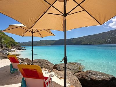 Incredible private beach! Swim or kayak from here to Magens,1 of world's top 10 beaches (Conde Nast)
