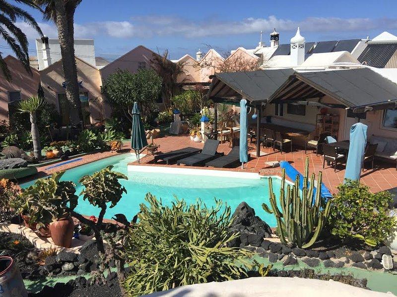 Casa Verde, Comunidad Área de la piscina