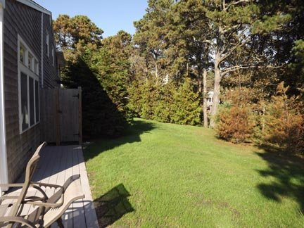 Side Yard and Enclosed Outdoor Shower