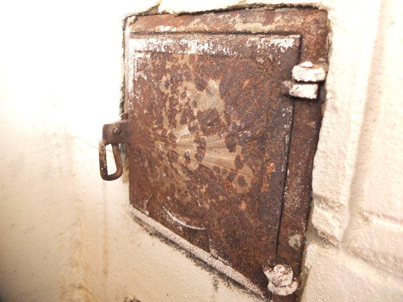 Old Door Poêle à bois
