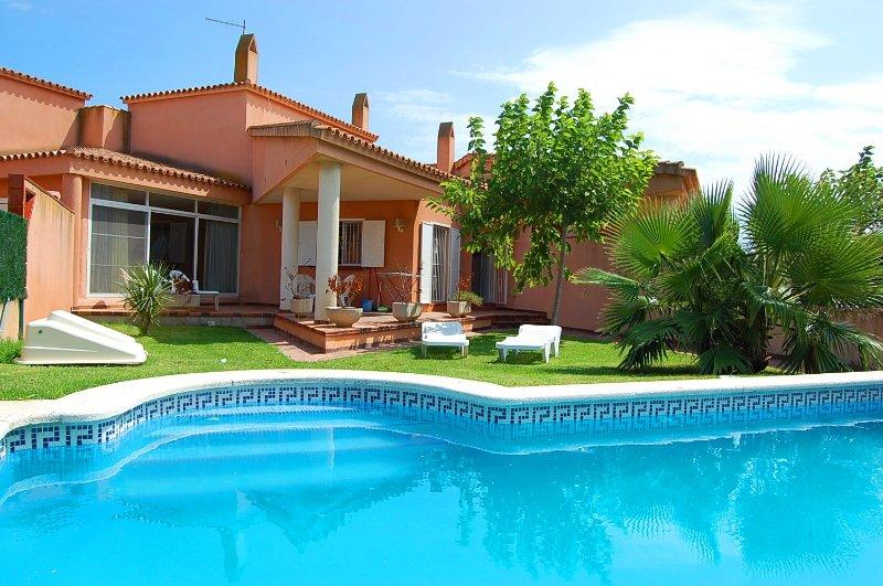 Villa Rosa 2, vacation rental in L'Eucaliptus