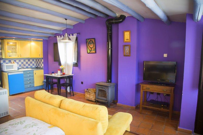 Apartamento 2 plazas camas individuales 90 x 190, vacation rental in Extremadura