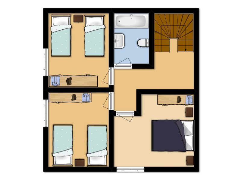 Floor Plan: Second Floor