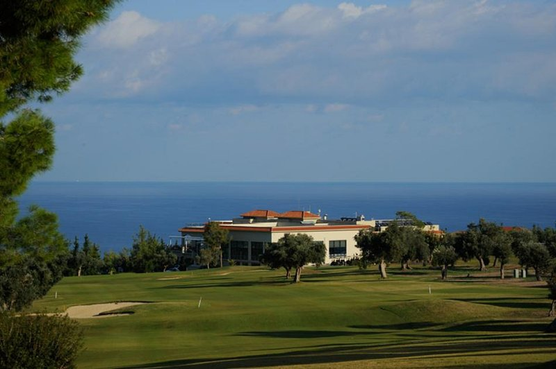 Korenium Golf and Spa complex, less than a 10 minute drive, non members are very welcome.