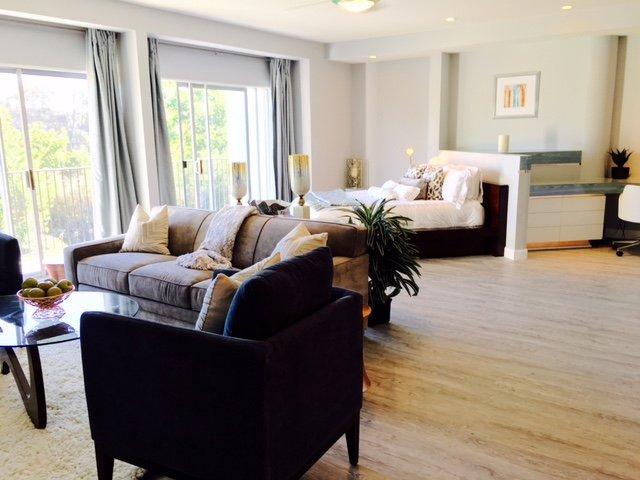 Ample room in open floor plan