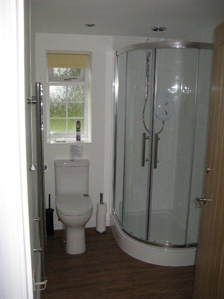 Uno de los dos baños similares