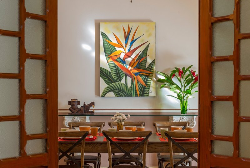 Entire home has a great tropical, Mexican vibe!