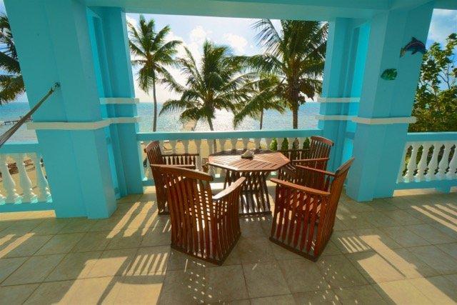 vista despejada del mar Caribe, en su gran terraza!