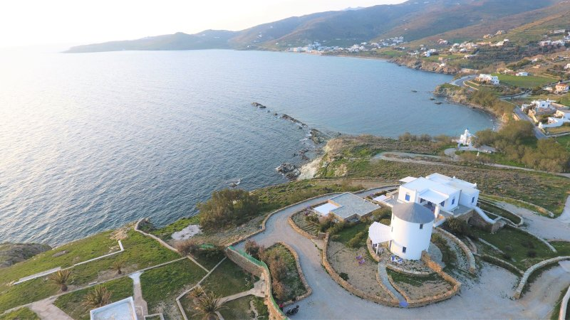 Windmill by the sea - Stavros Bay, holiday rental in Tinos Town