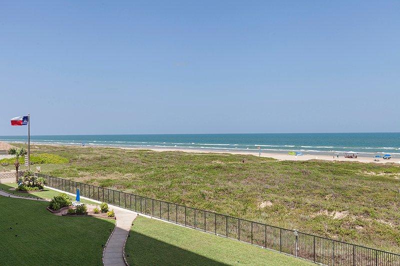Vista de la playa desde el 3er piso