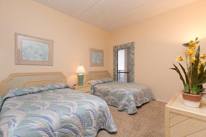 Chambre Sud avec 2 lits doubles