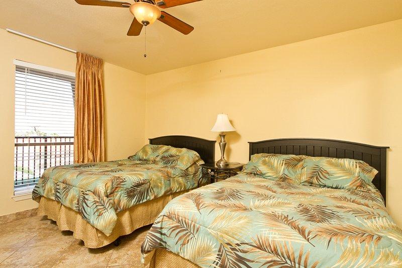 Chambre Nord avec 2 lits doubles