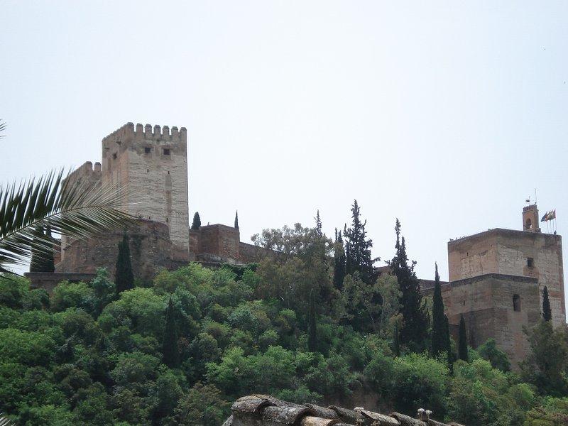 Albaycin, vista Alhambra, piscina, jardín, max 4, location de vacances à Grenade