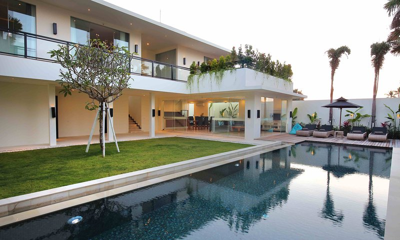Onze gloednieuwe moderne minimalistische villa in Bali