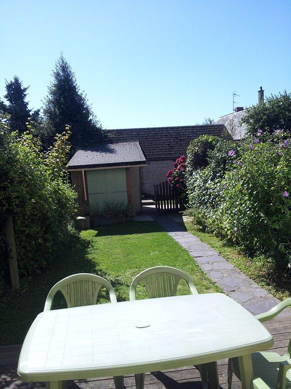 Garden very sunny 100m2