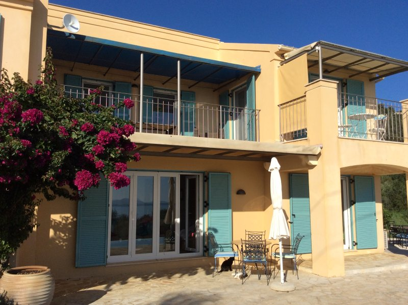 Villa Serendipity,Nissaki.Highly recommended property.Sea views & private pool, holiday rental in Nissaki