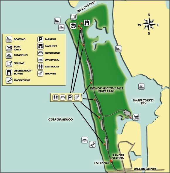 DELNOR WIGGINS PASS- votado como uno de los 10 mejores playas de América