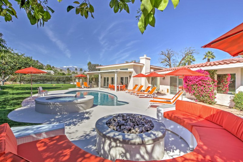 Le encantará la privacidad de esta hermosa casa de vacaciones en Palm Desert.