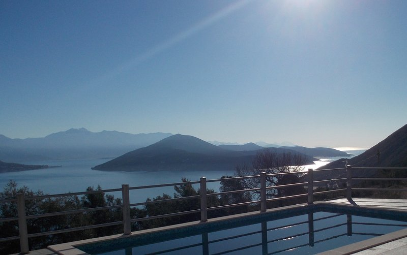 Breathtaking views from Villa D & pool, Zvinje, Herceg Novi, holiday rental in Herceg-Novi Municipality