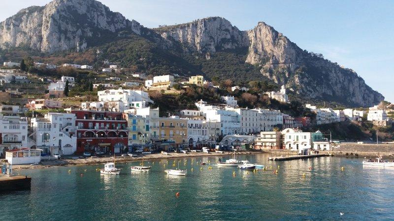 de haven van Capri