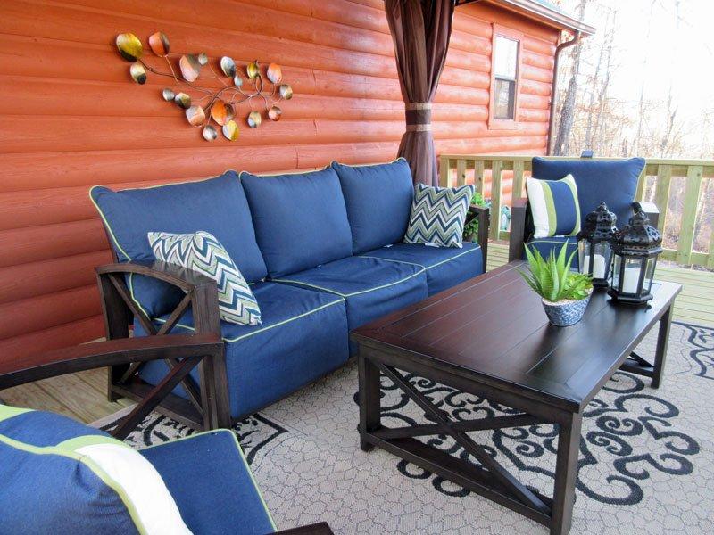 El exceso de profundidad muebles, accesorios grandes; Creerás que estás en un complejo caro!