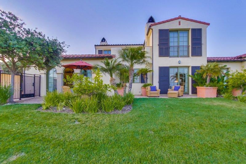 Our villa facing the Terranea Golf Course.