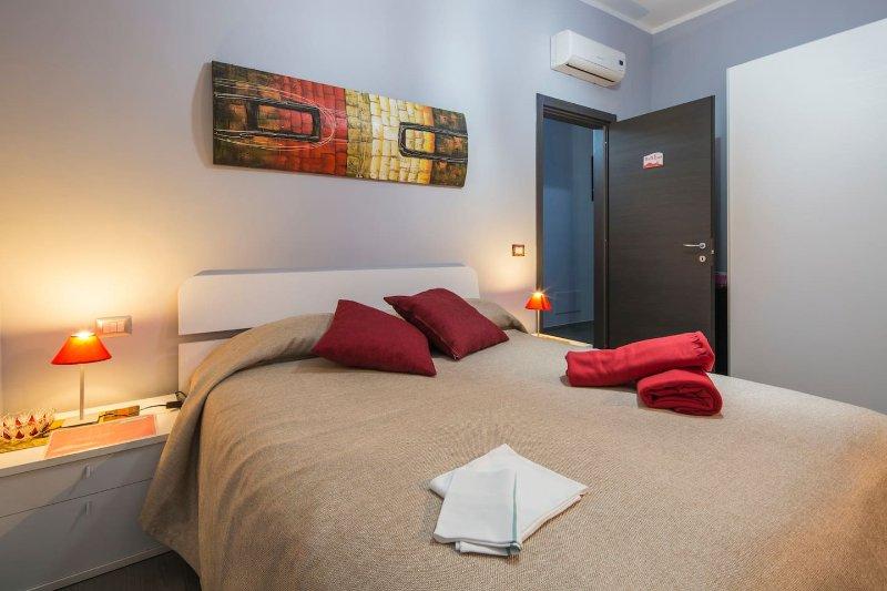 Quarto vermelho, Bed and Breakfast Eco.