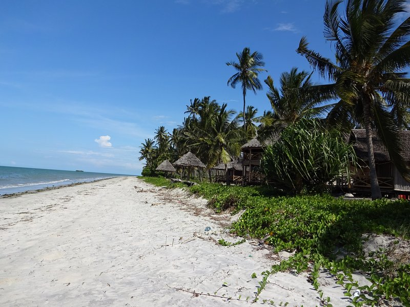 The resort is a luxury hotel on a quite pristine white sand beach near Sange vil, vacation rental in Pangani