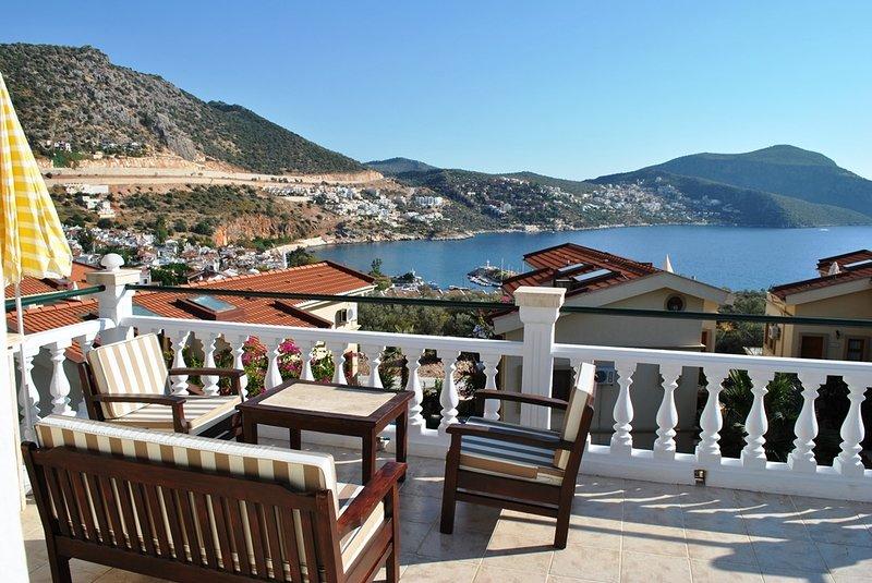 Nice terrace view