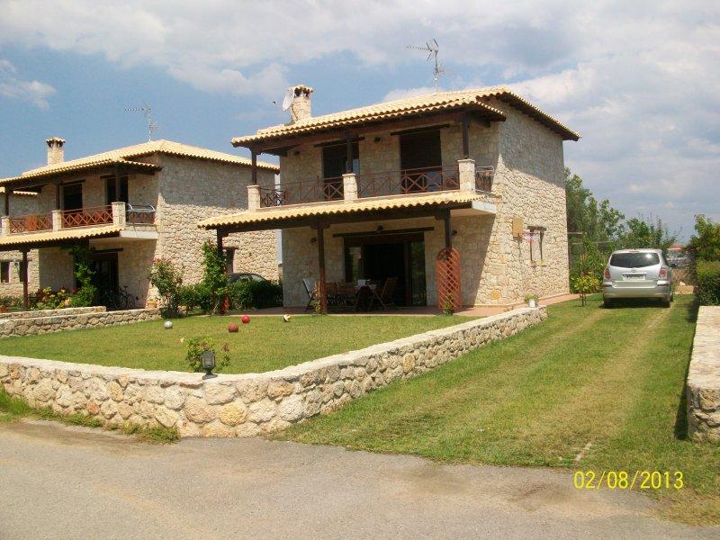 House in afito, location de vacances à Kalyves Polygyrou