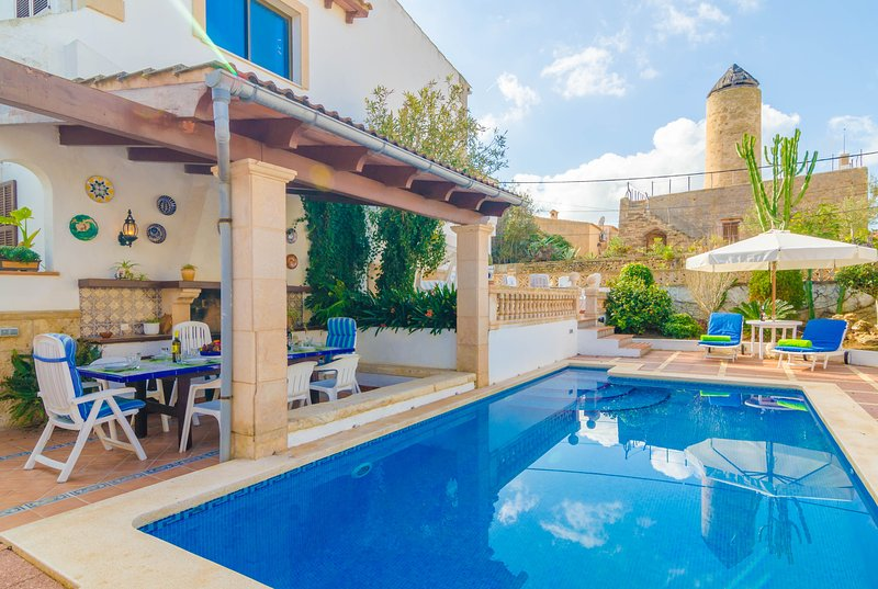 CAN NICOLAU - Villa for 8 people in Colònia de San Pere, holiday rental in Colonia de Sant Pere