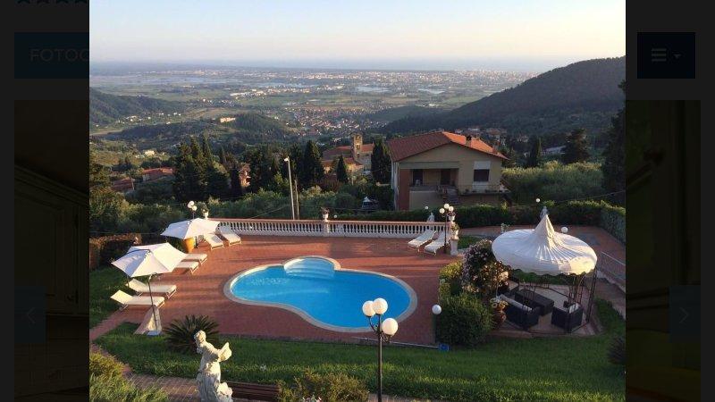 Exclusive Tuscany Villa, holiday rental in Pedona