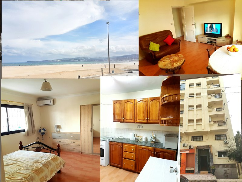 Tangier city centre apartment 3br, holiday rental in Tangier