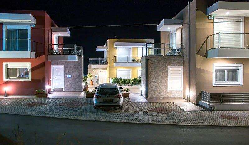 Gennadi Aegean Horizon villas villa A, vacation rental in Gennadi