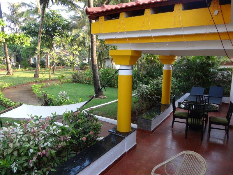 Open verandah with hammock