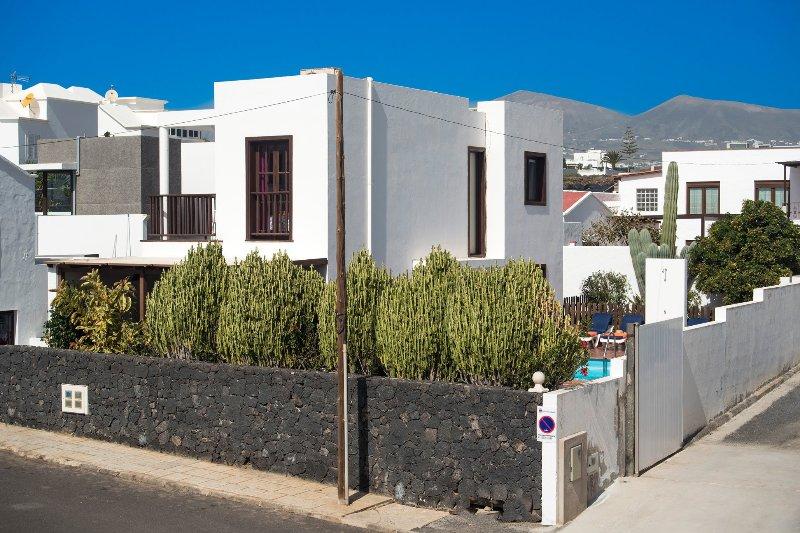 Villa entrada