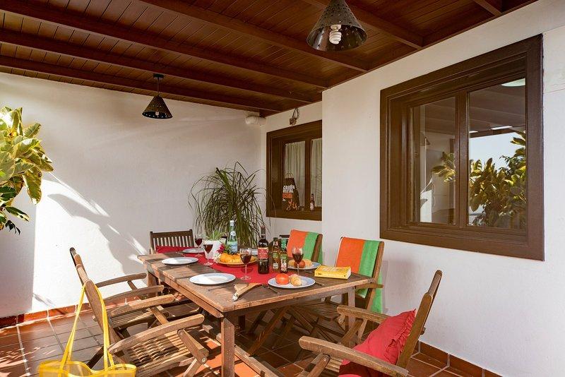 terraço com churrasqueira