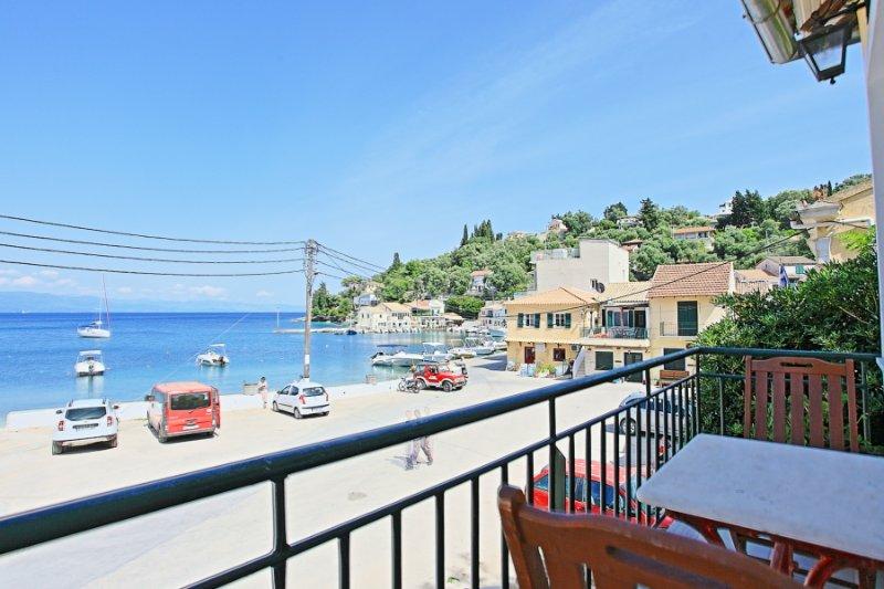 Balcony with sea view views