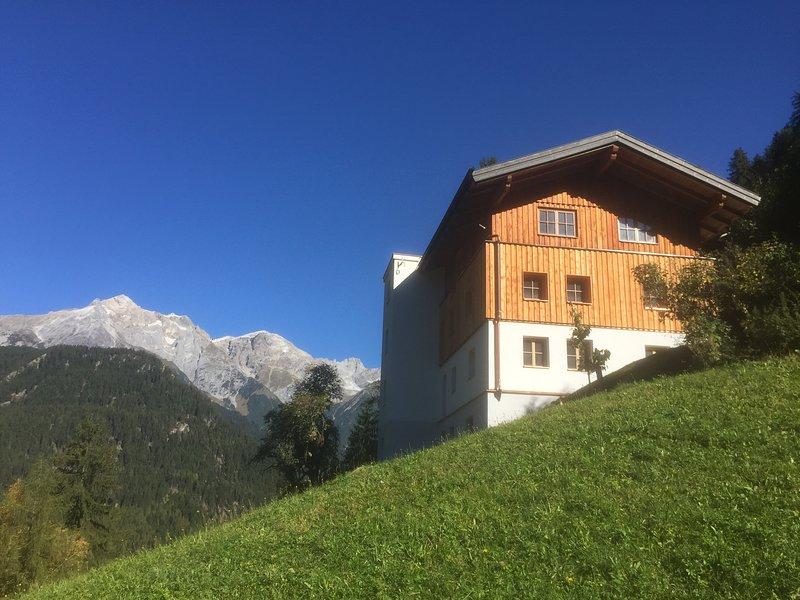 Mountain Farm in the countryside