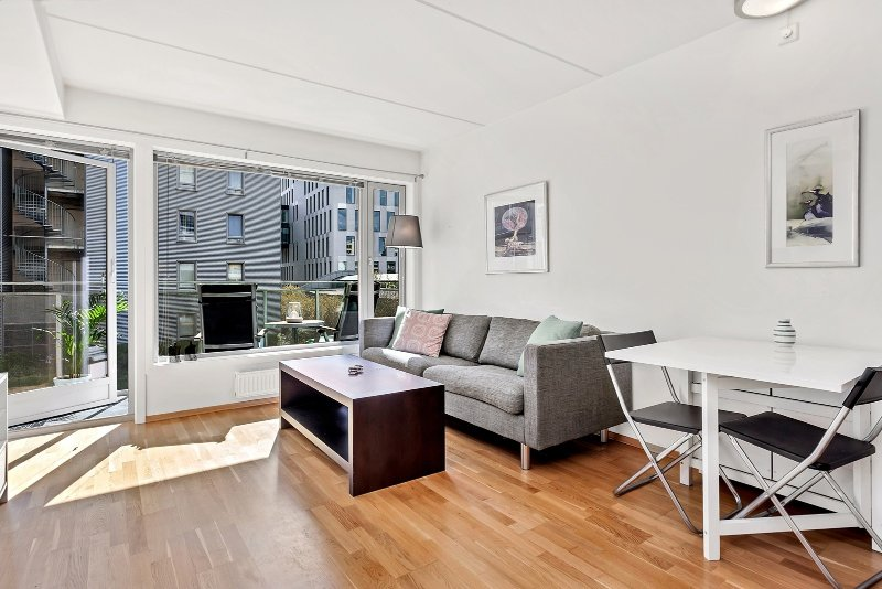 PL31-Superior City Center 1BD/1BA/Balcony 4ppl Budget, alquiler vacacional en Oslo