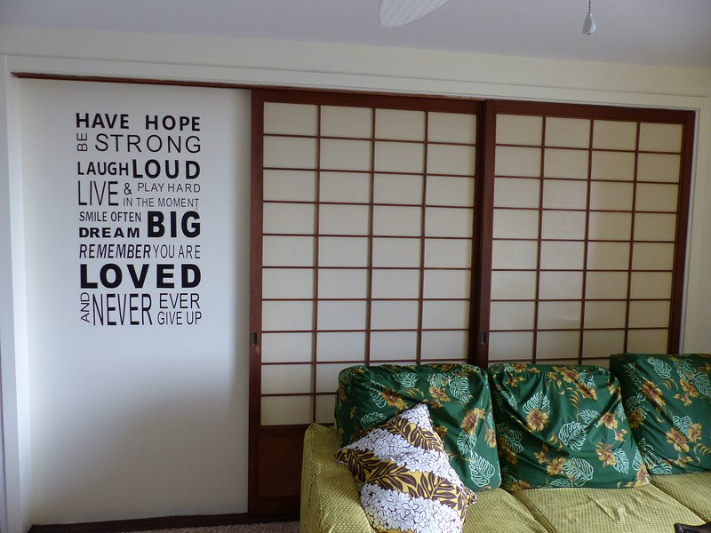 Les portes coulissantes Shoji offrent intimité quand il est fermé, mais gardez chambre lumineuse et refroidir lorsqu'il est ouvert