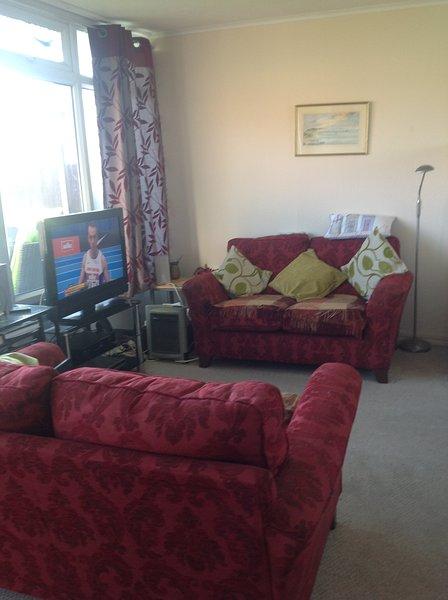 sittingroom confortável com tudo que você precisa para o seu conforto