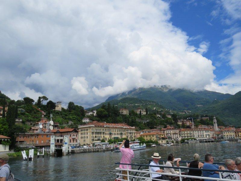 On the Traghetto (water taxi) from Menaggio