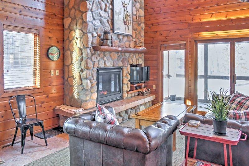 Este aluguer de férias para até 8 pessoas oferece todo o conforto de casa.