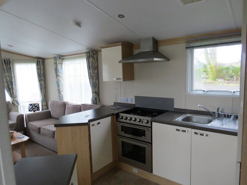 The caravans are well spaced and sited without regimentation wi-fi available in the reception room
