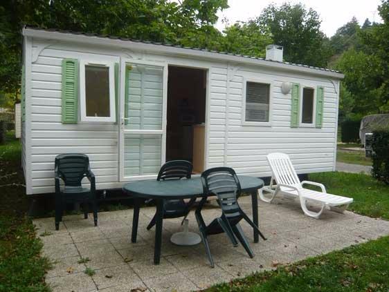 mobile home Compact Camping Retourtour 3 estrelas piscina rio Ardeche