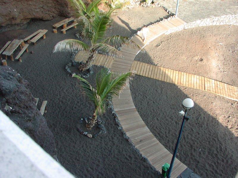 A praia quando eu tinha protetor solar vista da casa