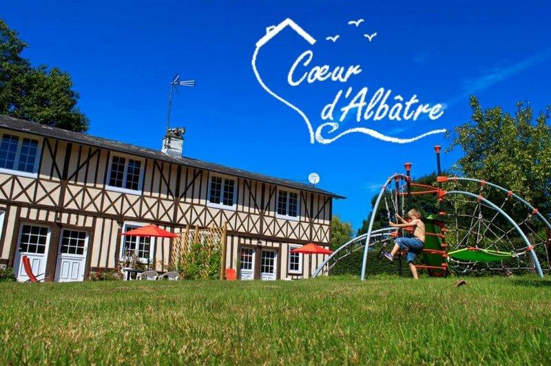 Cœur d'Albâtre : l'Âtre,  plein sud , golf à 500m, alquiler vacacional en Paluel